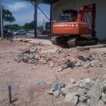 Groundworks Bedfordahire for MacDonalds Luton