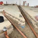 Groundworks Bedfordshire drainage and substructure for MacDonalds Luton